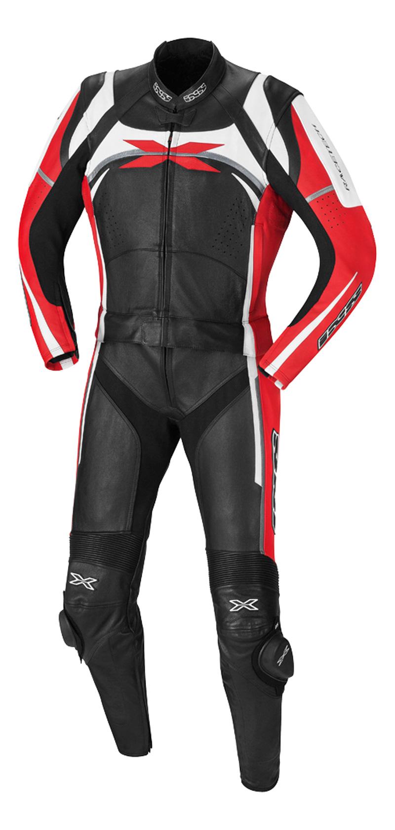 IXS / イクス スーツ CAMARO ブラック-レッド-ホワイト 102 X70012