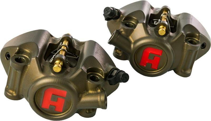 Accossato cnc-worked monoblock brake caliper Moto 3, distance 60 mm