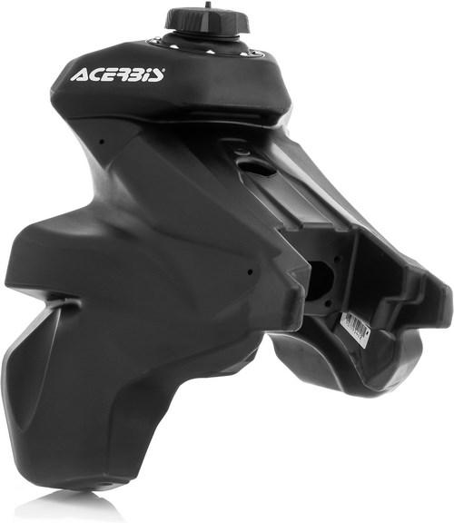 Acerbis(アチェルビス)プラスチックタンク ペットコック + パーツ - ブリーザーベントホース, ブラック