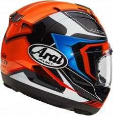 Arai RX-7 V Helmet, Maze Red   135-0102