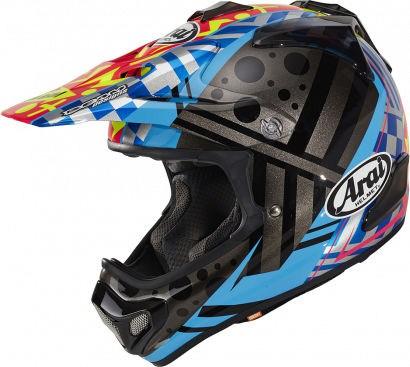 Arai MX-V Helmet, Barcia-II (BamBam) | 101-0224