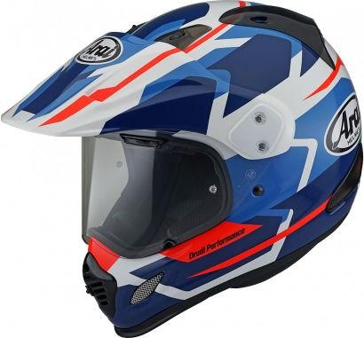 Arai Tour-X4 Helmet, Depart Blue | 110-0207