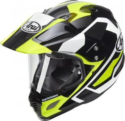 Arai Tour-X4 Helmet, Catch Yellow | 110-948