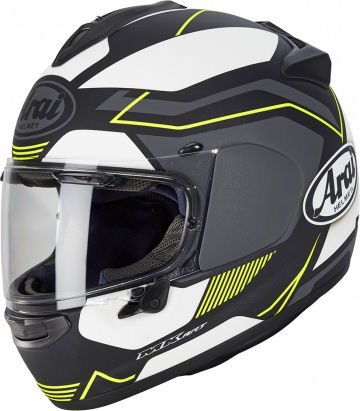 Arai Chaser-X Helmet, Sensation Yellow (matt) | 127-0173