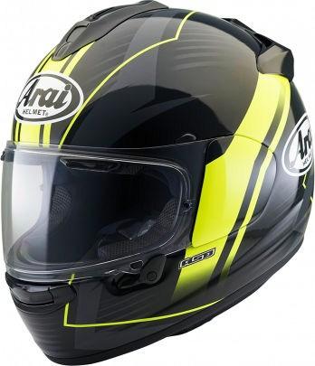 Arai Chaser-X Helmet, Xenon Fluor Yellow | 127-0176