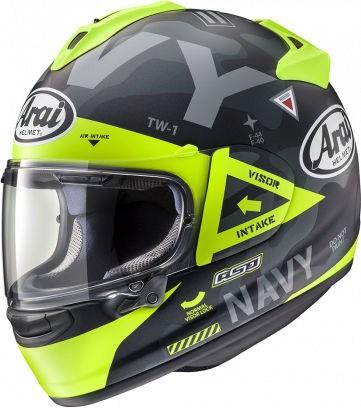 Arai Chaser-X Helmet, Navi matt-schwarz/gelb | 127-885