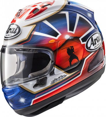 Arai RX-7 V Helmet, Pedrosa Spirit Blue | 135-955