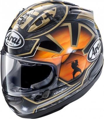Arai RX-7 V Helmet, Pedrosa Spirit Gold | 135-956