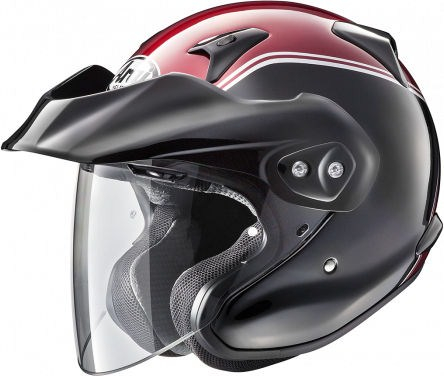 Arai CT-F Helmet, Gold Wing Rot/Schwarz | 155-854