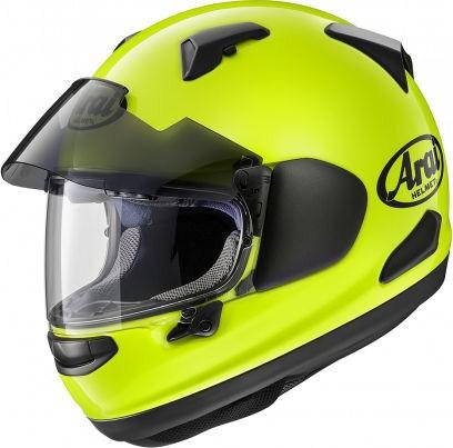 Arai QV Helmet, Fluor Yellow | 164-0048