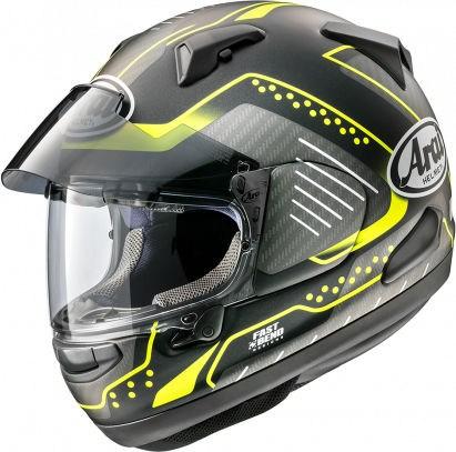 Arai QV Helmet, Drone Fluor Yello (matt) | 164-0122