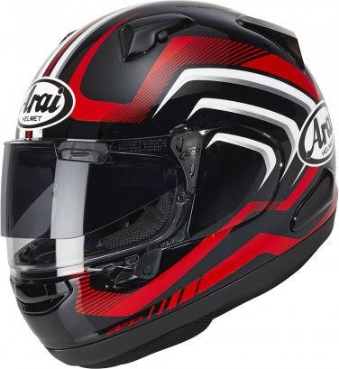 Arai QV Helmet, Carve Red | 164-0130