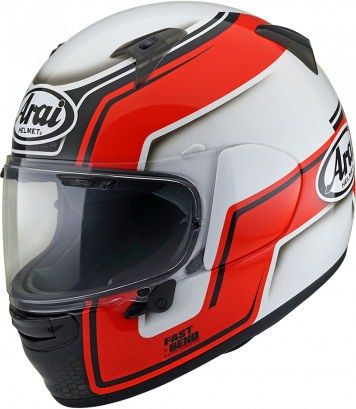 Arai Profile-V Helmet, Bend Red | 176-0187