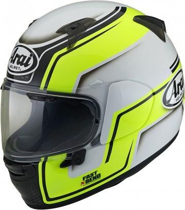 Arai Profile-V Helmet, Bend Yellow | 176-0188