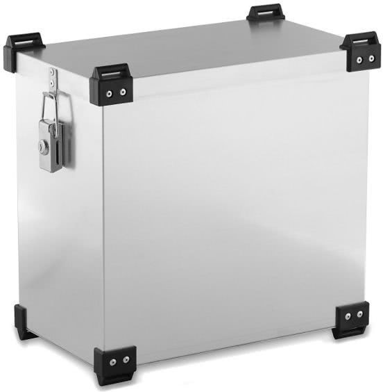 Bagtecs / バッグテック Aluminium Side cases 2x 36 l Bagtecs / バッグテック X4 + Mounting kit for 16mm luggage carriers | 995651-0