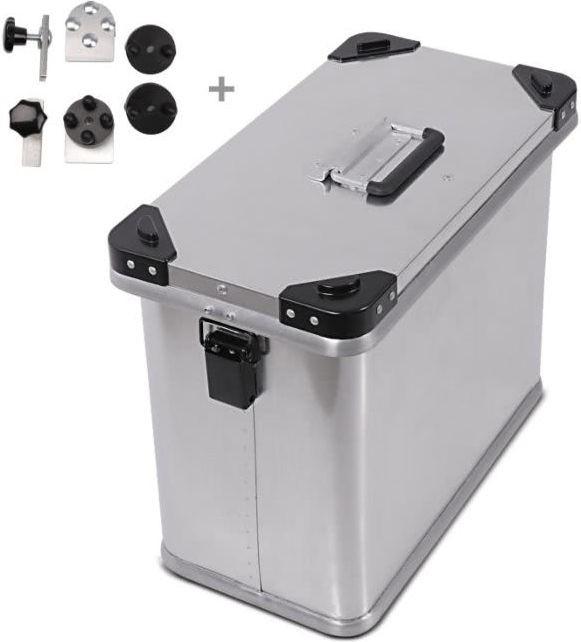 Bagtecs / バッグテック Aluminium Side Case Bagtecs / バッグテック 34l + Mounting kit for 16mm (1 piece) | 979868-0