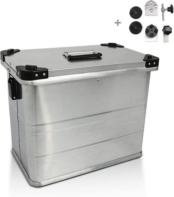 Bagtecs / バッグテック Aluminium Side Case Bagtecs / バッグテック 45l + Mounting kit for 16mm (1 piece) | 980280-0