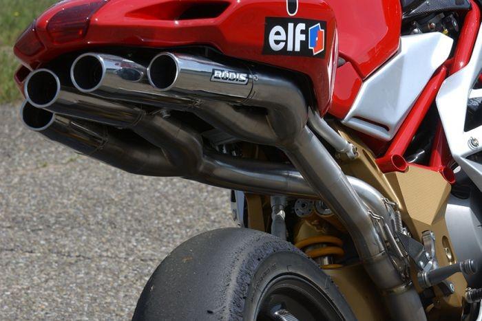 Bodis(ボディス)フルエキゾーストシステム フルチタン Quattro FRR Racing for F4(04-09)   MF4-009