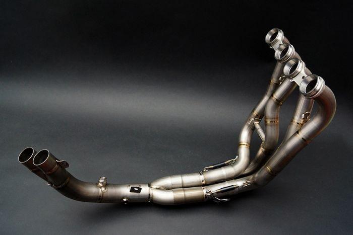 Bodis(ボディス)マニフォールド フルチタン Quattro FR Racing 交換用キャタライザーパイプ付 for F4(04-09)   MF4-010