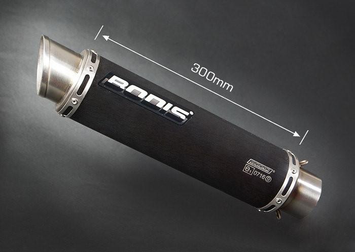 Bodis(ボディス)フルエキゾーストシステム 4-2 ステンレス ブラック GP1 ヨーロッパ公道走行認可 for YZF R1(2009-)   YR1-046