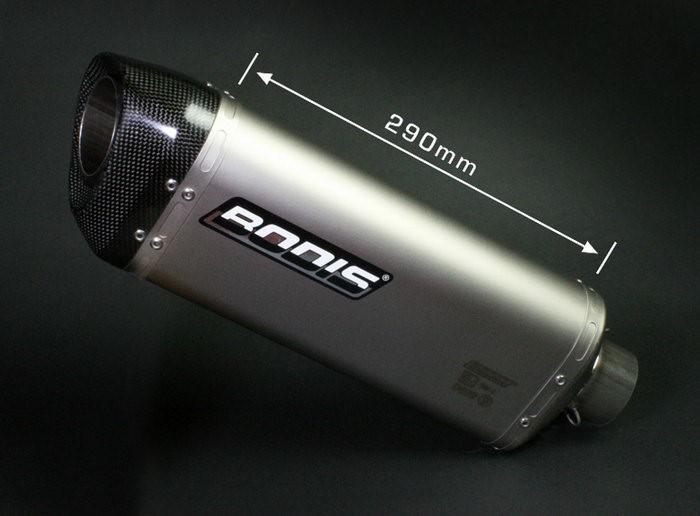 Bodis(ボディス)フルエキゾーストシステム フルチタン Three-Tec-C for YZF R6(2006-)   YR6-026