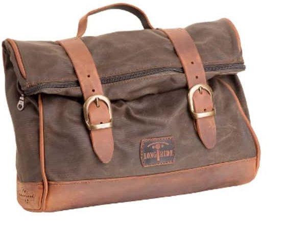 Custom Acces Vintage Right/Left Saddlebags, Orange | AL0002T