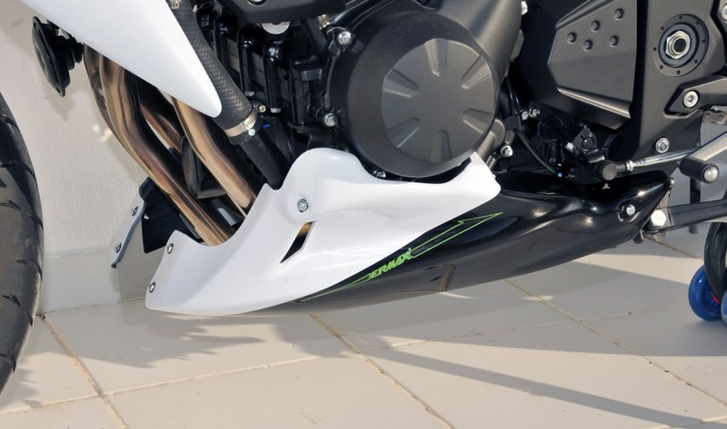 Ermax / アルマックス belly pan Ermax / アルマックス (3 parts ) for Z 750 2011 blanc pearl (blanc pearl alpine ) | 890312060