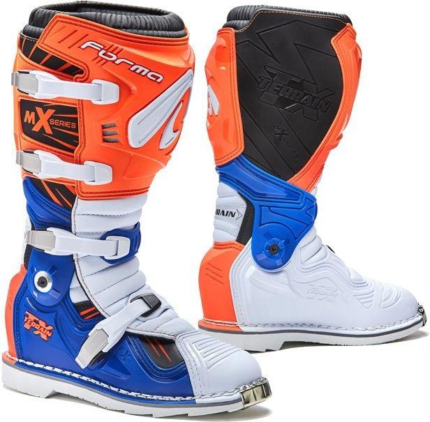 Forma Terrain TX Standard Off-Road Fit, Orange/White/Blue |FORC350-169811
