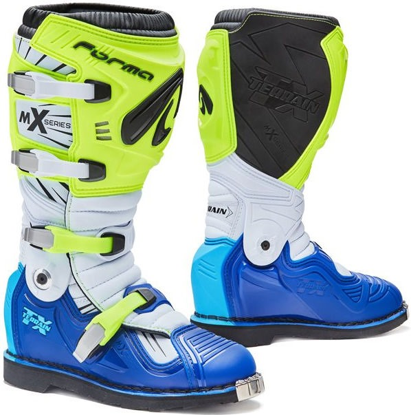Forma Terrain TX Standard Off-Road Fit, Yellow Fluo/White/Blue |FORC350-789811