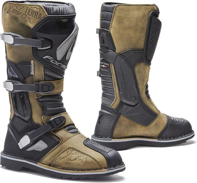 Forma Terra Evo Adventure Riding Boots Extra Comfort Fit, Brown |FORC51W-99-24
