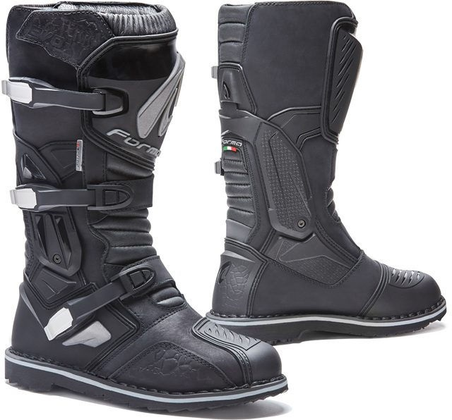 Forma Terra Evo Adventure Riding Boots Extra Comfort Fit, Black |FORC51W-99-99