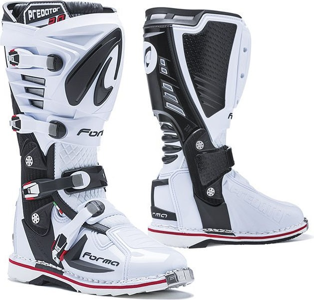 Forma Predator MX Boots Standard Off-Road, White |FORC520-98
