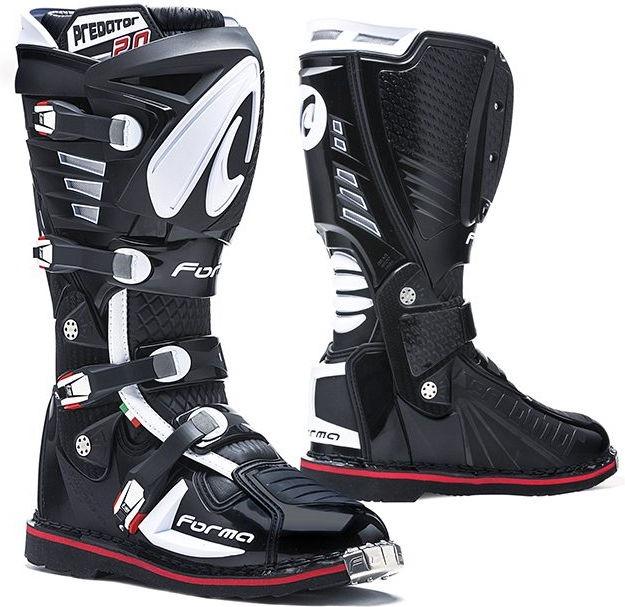 Forma Predator MX Boots Standard Off-Road, Black |FORC520-99