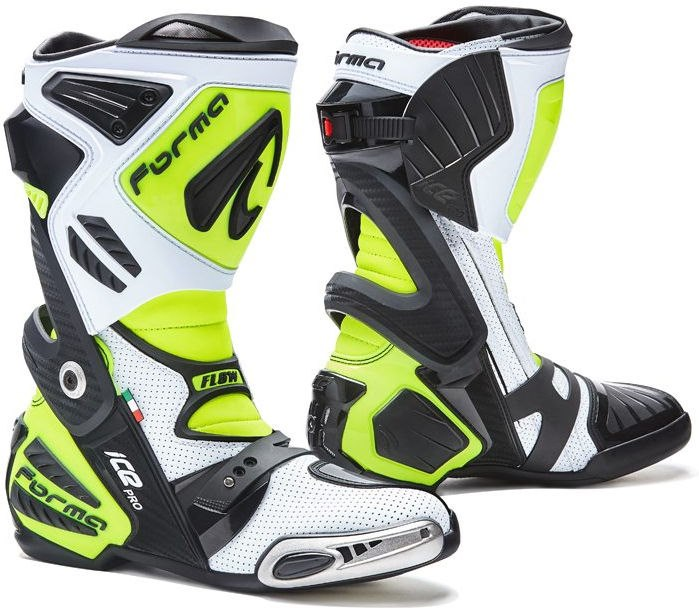 Forma Ice Pro Flow Standard Fit, White/Black/Yellow Fluo |FORV210-989978
