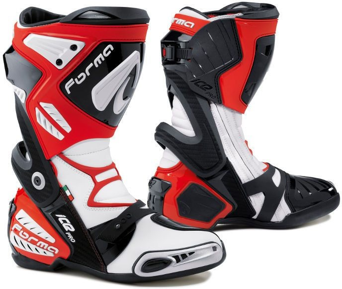 Forma Ice Pro Racing Boots Standard Fit, Red |FORV220-10