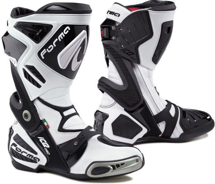 Forma Ice Pro Racing Boots Standard Fit, White |FORV220-98