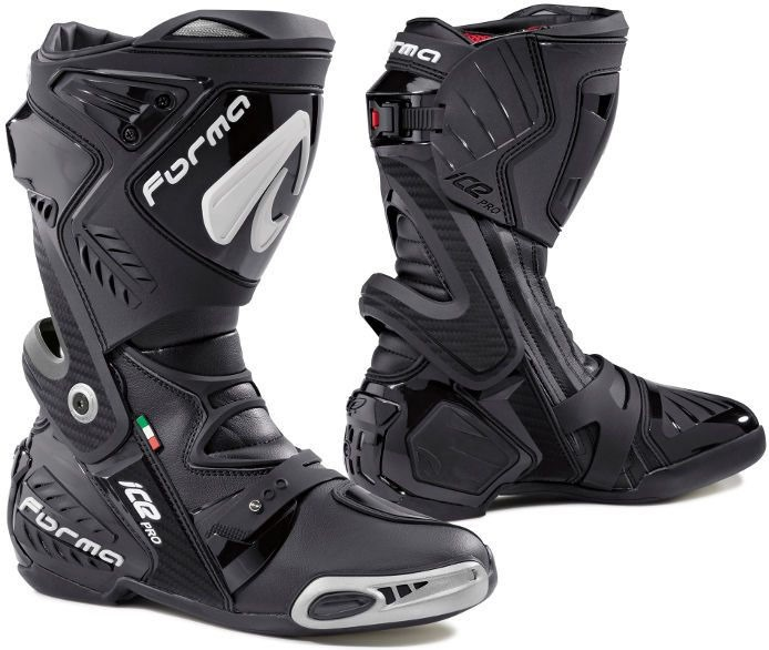 Forma Ice Pro Racing Boots Standard Fit, Black |FORV220-99