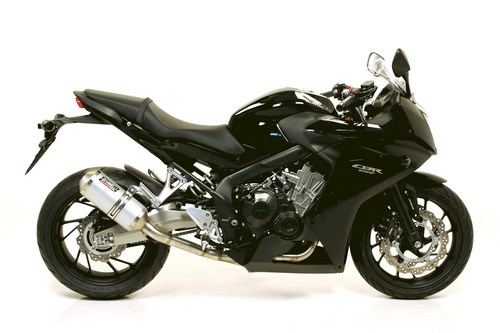 Giannelli / ジェネリ HONDA CBR 650 F14 FULL SYSTEM WITH TITA NIUM SILENCER AND S. STEEL COLLECTORS | 73816T6K