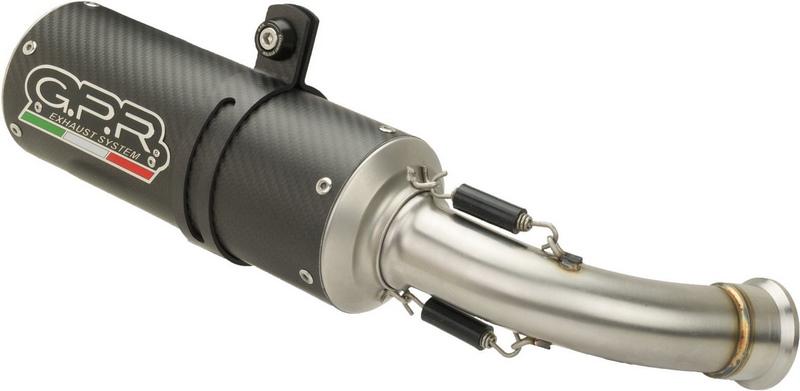 GPR / ジーピーアール Original For Suzuki Gsx-S 1000 2015/16 E3 Homologated Full Exhaust Catalized M3 Carbon   CO.S.192.CAT.M3.CA