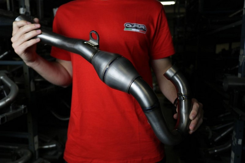 GPR / ジーピーアール Exhaust System Yamaha Yz 450 F 2020 Oct 2021 Mx competition full line Pentacross FULL Titanium | PNT.MX.23.FTT