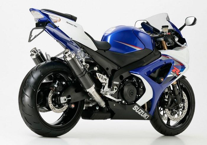 HURRIC (フリック) Supersport スリップオンエキゾースト (4-2) SUZUKI GSX-R 1000 (2007-2008)   63502279