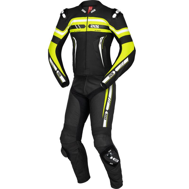 IXS / イクス スーツ Sport LD RS-700 2Pc ブラック-イエロー-ホワイト X70021-351