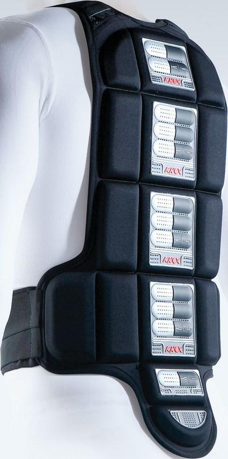 KNOX / ノックス バックプロテクター折り畳み式 Kompakt ブラック