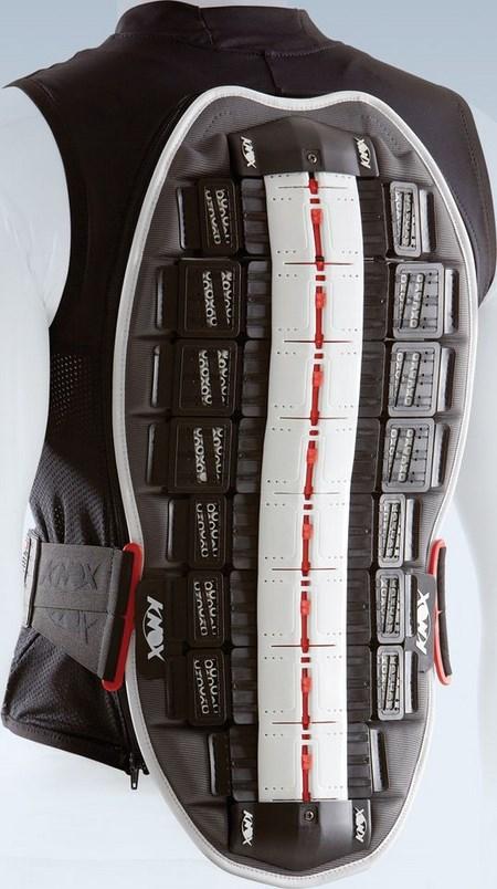 KNOX / ノックス プロテクターベスト Track Vest ブラック・ホワイト