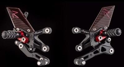 "Lightech ""R"" VERSION ADJ. REAR SETS , NORMAL SHIFTING - BMW S1000RR (09-14) + S 1000 R (14-16)   FTRBM001R"