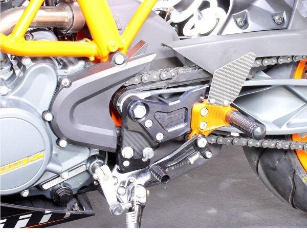 Mg-biketec Sport Rearset KTM 125 Duke Orange 2011-2016   2570-651511