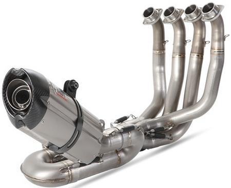MIVV / ミヴ-POWER EVO SUONO- フルエキシステム 421 チタン(カーボンエンドキャップ) for CBR 1000 RR(08-)