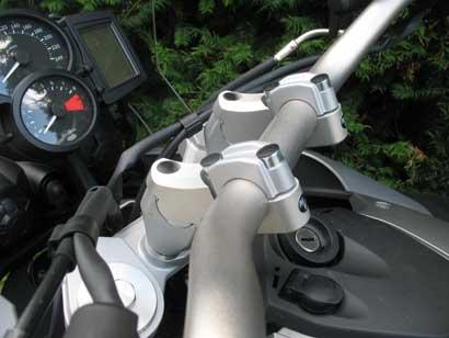 MV Motorrad / エムブイ モトラッド The Tube Style Superbike Handlebar Adapter BMW F800GS - 901311