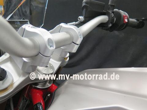 MV Motorrad / エムブイ モトラッド Handelbar Adapter BMW R1200R LC 2015 up to 2019 and BMW R1250R LC - 901444