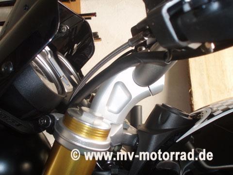 MV Motorrad / エムブイ モトラッド Handlebar Adapter BMW R nineT and Scrambler incl. clutch line - 901445_b
